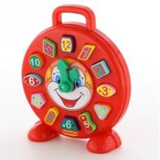 """Часы """"клоун в""""  (в сеточке)"""