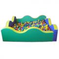 Сухой бассейн (квадратный)