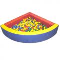 Сухой бассейн (угловой)