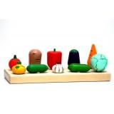 Овощная грядка (10 овощей